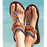 Aspiga Likoni Multi Flat Leather Sandals