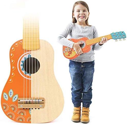 Dufeng Los niños de Madera Guitarra de Juguete, Juguete Educativo ...