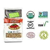 GoGo Quinoa Organic Gluten Free Supergrains Fusilli Pasta, Organic, Non GMO Gluten Free and Kosher ceritified 35.2 Ounce