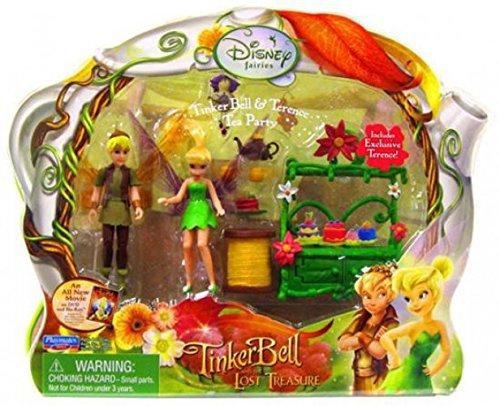 Tinkerbell Tea - Playmates Toys Disney Fairies Tinkerbell & The Lost Treasure Playset Tinkerbell & Terence Tea Party