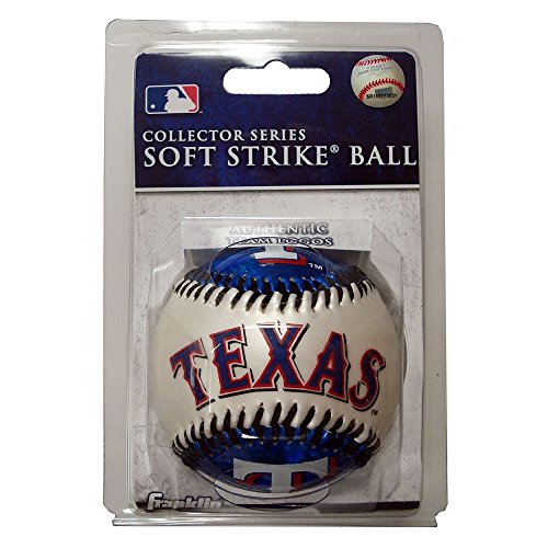 fan products of Franklin Sports MLB Texas Rangers Team Softstrike Baseball