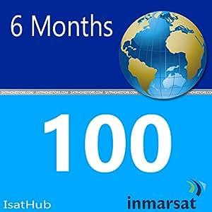Inmarsat IsatHub Prepaid Sim Card - 100 MB