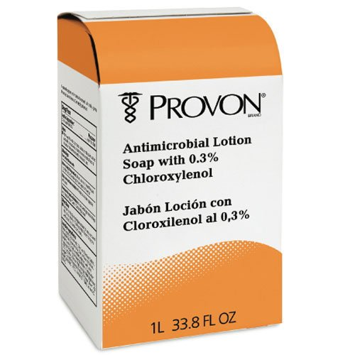 Provon Antimicrobial Lotion Soap W/ Chloroxylenol, 1000mL Pouch, Floral Balsam, 8/Case (Provon Gentle Lotion Soap)