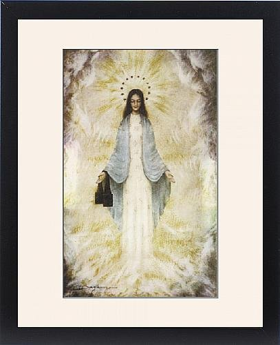 Framed Print Of Garabandal Apparition by Prints Prints Prints