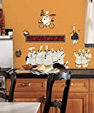 kitchen chef wall stickers - Chef Wall Decal 6 x 11in