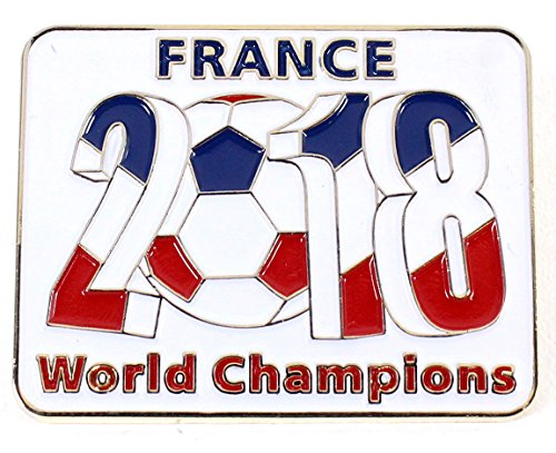 (France 2018 World Cup Champions Pin)