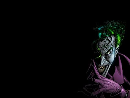 Posterhouzz Comics Batman Joker HD Wallpaper Background Fine Art Paper Print Poster ABO835
