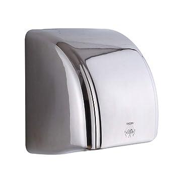 GCHOME Secadores de Mano Secador de Manos, secadores de Manos de Alta Velocidad automáticos Inteligentes del Acero Inoxidable de la inducción del Cuarto de ...