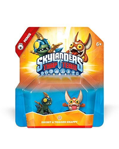 Skylanders Trap Team: Drobit & Trigger Snappy - Mini Character 2 Pack by Activision