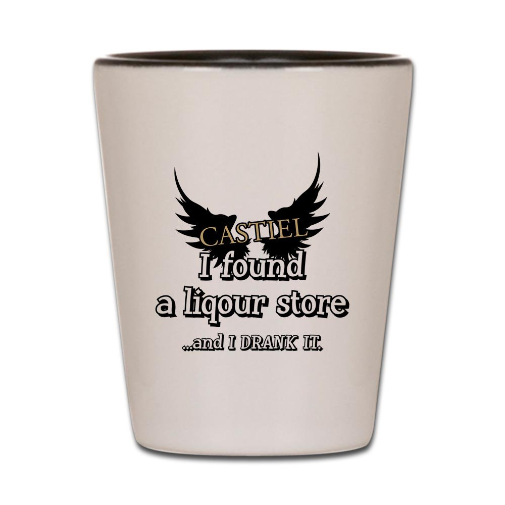 CafePress - SUPERNATURAL I DRANK IT - Shot Glass, Unique and Funny Shot Glass