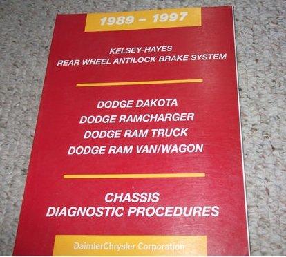 1994 Dodge Ram Van & Wagon Repair Shop Manual Original B100-B350 -