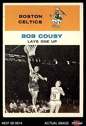 1961 Fleer   49 In Action Bob Cousy Boston Celtics (Basketball Card) Dean s  Cards 019b31d5f