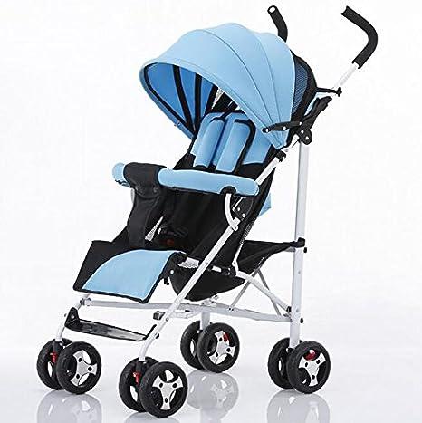 ZHZ-Bicicletas Carrito de bebé Ultra-Ligero portátil Puede ser ...
