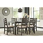 Ashley Furniture Signature Design - Brovada Rectangular 5-Piece Dining Room Set