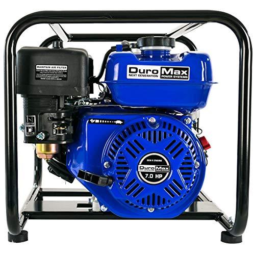 (DuroMax XP702HP 70GPM/116PSI Gas High Pressure Water Pump, 2