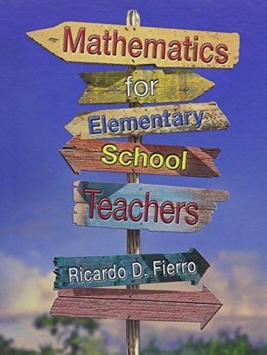 Bundle: Mathematics for Elementary School Teachers + Math Manipulatives Kit + Activities Manual