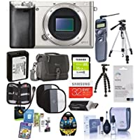 Sony Alpha A6000 Mirrorless Digital Camera Body Bundle. Value Kit with Acc