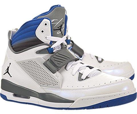 b58b03a9324 Nike Jordan Men s Jordan Flight 97 White Black Sport Blue Cl Grey  Basketball Shoe 12 Men US - Buy Online in Oman.