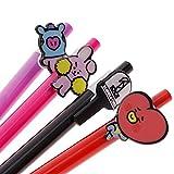 #7: FANMURAN BTS Bangtan Boys BT21 Ballpoint Pen Cartoon Pattern Pen Kpop Study Gift 03(COOKY)