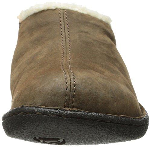 Keen Galena piel zapatos ocio Slip On Zapatos Cascade Brown