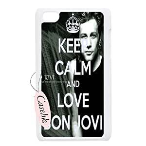 Casehk Brand New Protective Cover Case for iPod Touch 4, Bon Jovi iPod Touch 4 Personalized Case, Bon Jovi DIY Cell Phone Case