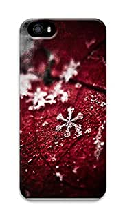 iPhone 5 5S Case Perfect Snow Flake 3D Custom iPhone 5 5S Case Cover