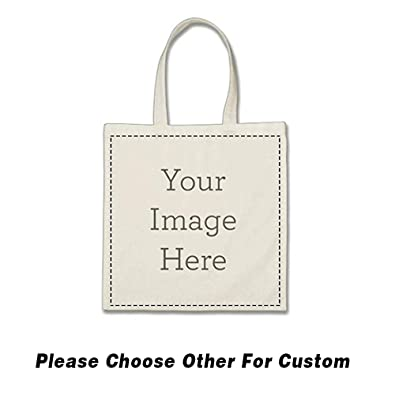 9356224269 Amazon.com: Custom Canvas Tote Bag(White)-Add your Photo/Text/Logo Print-Shopping  Bag-Personalized Bag (F White): Shoes