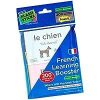 FlashSticks Post-Its imprimés pour apprendre le français Niveau 1 débutant