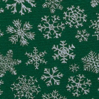 dark tied on snowflakes Men's Notch Silk green Bow Tie White Pre 1S6qxz
