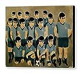 Tommervik Spock Soccer Team Art Print Spock Art Spock Wall Art Soccer Art Soccer Wall Art Funny Art Fun Art Cubism Art Gallery Wrapped Canvas Print