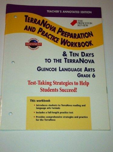 TerraNova Preparation and Practice Workbook, Grade 6 / Ten Days to ...