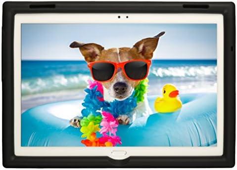 BobjGear Bobj Rugged Tablet Case for Lenovo Tab 4 10 Plus (TB-X704V, TB-X704F, TB-X704L, TB-X704Y, MotoTab TB-X704A) - BobjBounces Kid Friendly (Bold ...