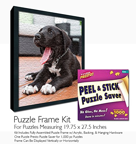 Jigsaw Puzzle Frame Kit - Made to Display Puzzles Measuring 19.75x27.5 Inches by Buffalo Games