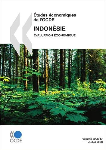 Livres Études économiques de l'OCDE : Indonésie 2008 : Évaluation économique: Edition 2008 pdf
