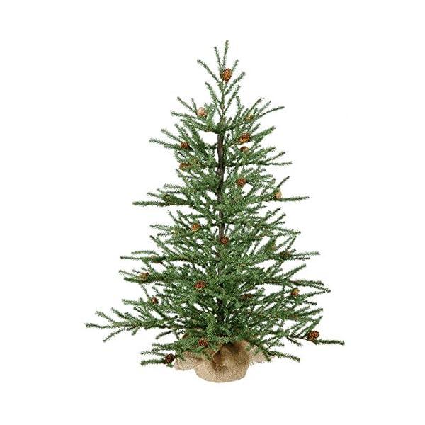 Vickerman-Carmel-Pine-Tree-with-Pine-Cones-294-PVC-Tips-in-Burlap-Base