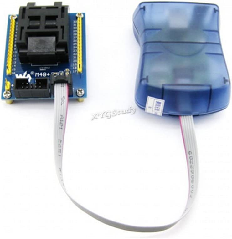 Based on ATMEL Official STK500 USB AVRISP CH AVR ISP high Speed Programmer Compatible with at AVRISP from ATMEL Supports AVR Studio 4//5//6//7 ISP/_6PIN Interface @XYGStudy