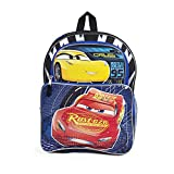 Disney-Pixar Cars 16-inch Cargo Backpack with Reflective Prism Finish
