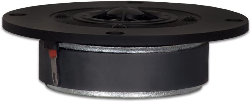 Goldwood Sound 120 Watts 8ohm Titanium Dome Speaker Tweeter Black (GT-324)
