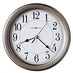 Bowery Hill Quartz Wall Clock