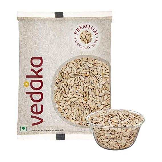 Amazon Brand - Vedaka Premium Sunflower Seeds, 200g