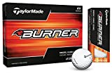 TaylorMade 2017 Burner Golf Balls, White (One Dozen)