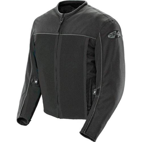Joe Rocket Velocity Men's Textile Street Racing Motorcycle Jacket - Black / 3XL