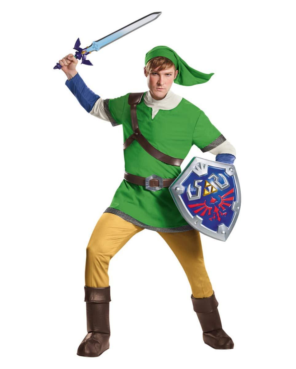 Traje De Los Hombres De La Leyenda De Zelda Deluxe XL ...