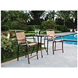Bar Height Patio Furniture Sets Amazon Com