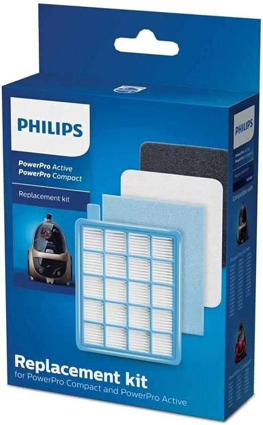 Philips FC8058/01 - Juego de 1 filtro HEPA 10, 1 filtro de motor ...