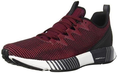 - Reebok Men's Fusion Flexweave Running Shoe, Black/Rustic Wine/Cranberry, 13 M US
