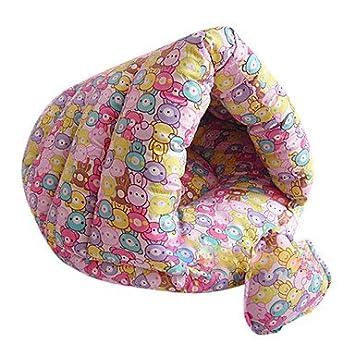 HP- Cutie oso patrón hamburguesa estilo saco de dormir suave Kitty cama para mascotas Gato Perro: Amazon.es: Productos para mascotas