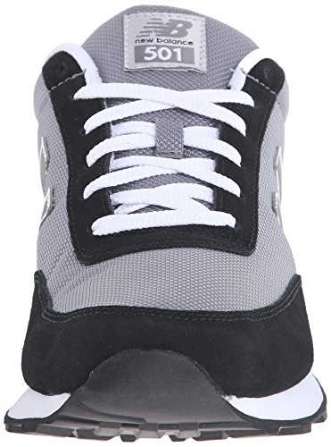 New Balance ML501 del hombre Core Running Shoe Grey / Black