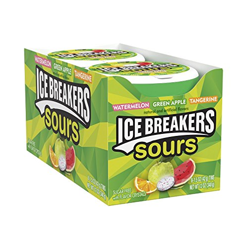 034000000982 - ICE BREAKERS Original Sours Sugar Free Mints, 1.5 Ounce carousel main 6
