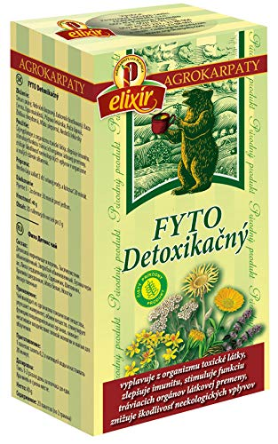 Detox Herbal Tea   Cleansing, Immunity, Intestinal Health, Kidneys, Bladder, Liver   Pure Natural Herbal Tea (20 Tea…